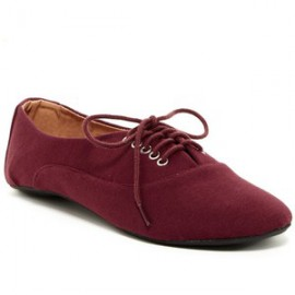 COBRA LACE UP-BURGUNDY