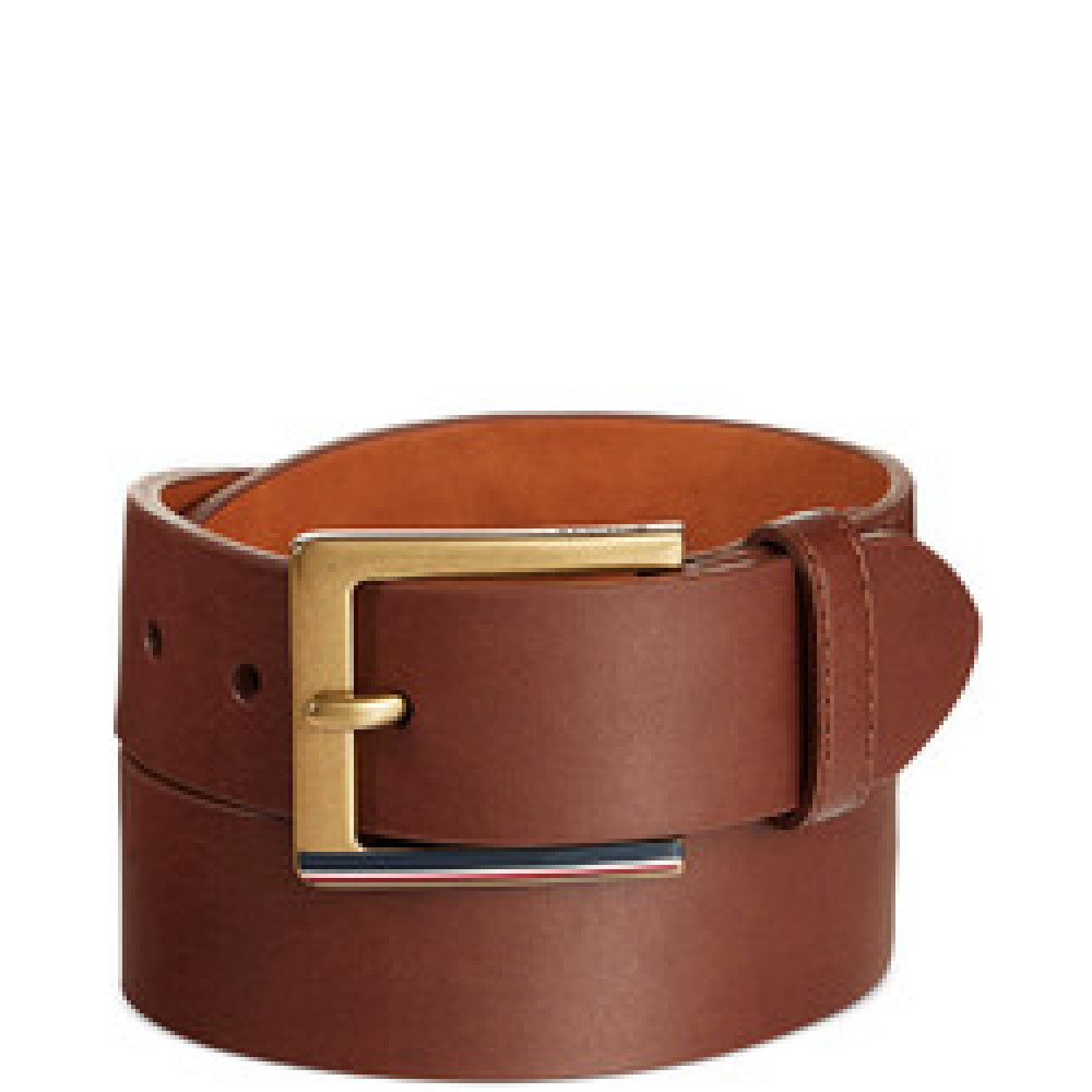 HILFIGER STRIPED BELT