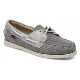 SPINNAKER BOAT SHOE-GRAY